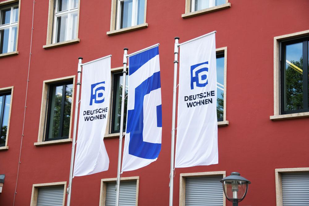 Deutsche-Wohnen-Uebernahme Berlin,,Germany,-,July,20,,2019:,Headquarters,Of,Deutsche,Wohnen