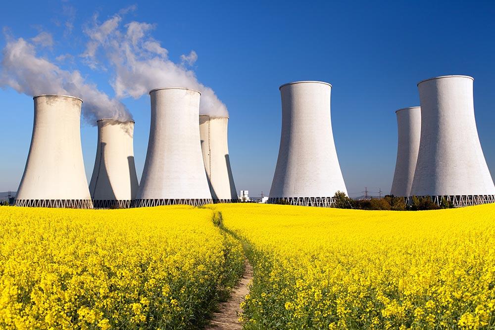 Atomkraftwerk-Klimawandel-Unternehmensblatt