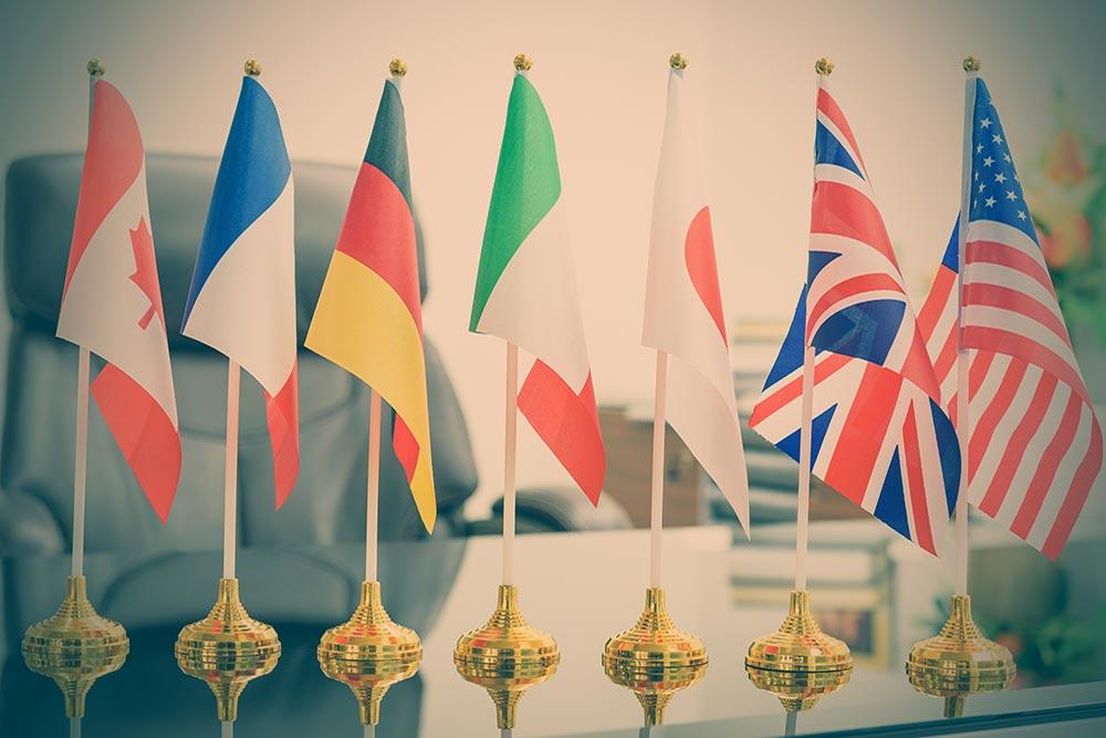 G7 Gipfel gestartet. Signalstarker Auftakt im Sommerloch