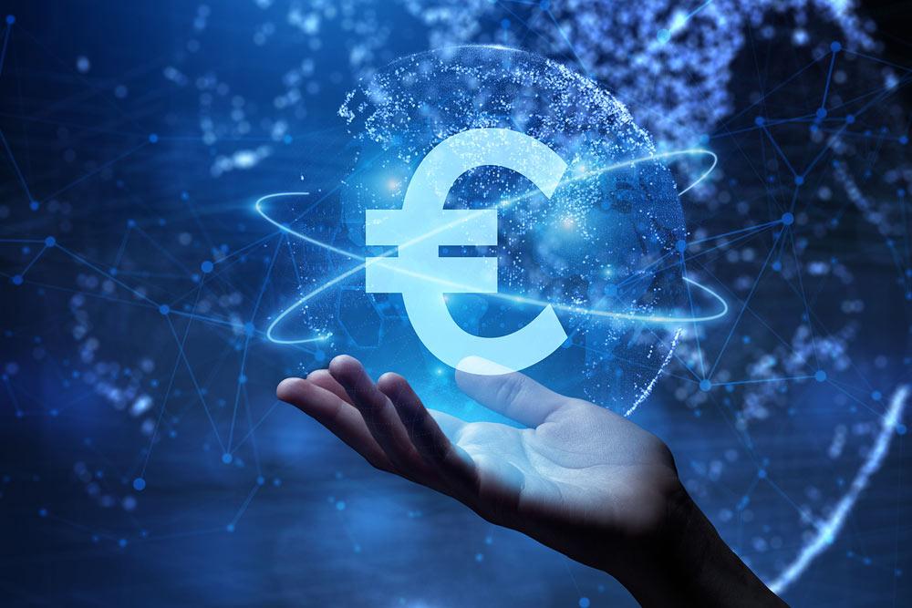 Digitaler Euro der E Euro